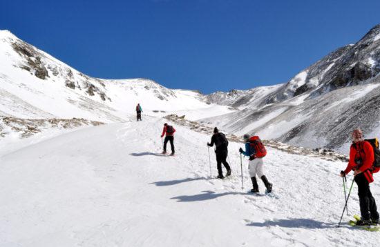 Fer raquetes de neu als pirineus Catalunya