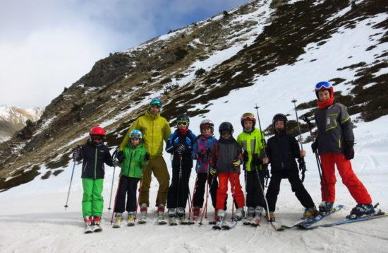 Escola d'esqui alpi a Catalunya